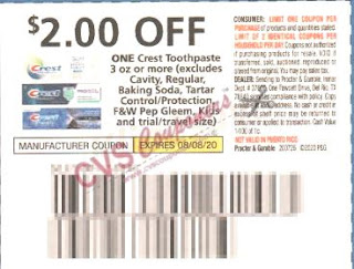 crest $2.00 off coupon