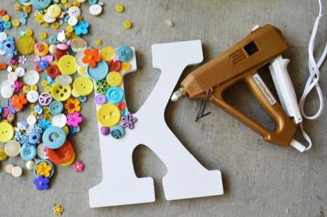 Cute Kids Fun Button Crafts For Active Children