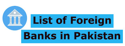 Foreign Banks in Pakistan List