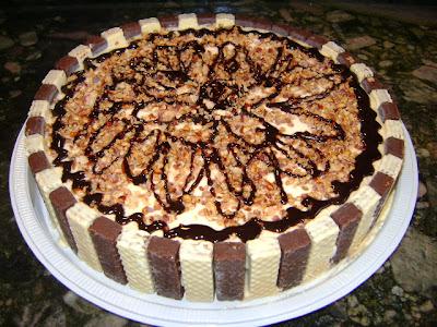 Receita de Torta gelada de biscoitos