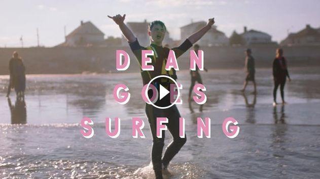 Dean Goes Surfing