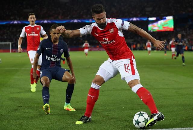 Hasil gambar untuk Prediksi Arsenal Vs Paris Saint Germain