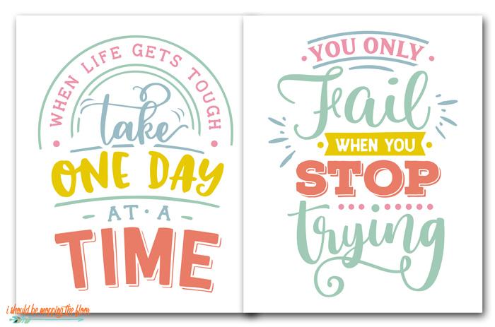 Free Printable Inspiring Quotes