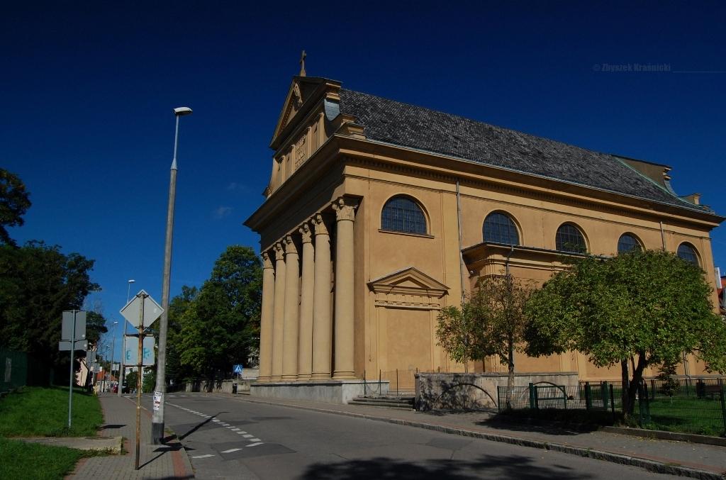 Olsztyn, kościół