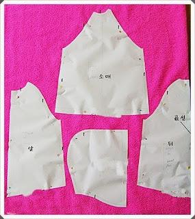 Kumaş Çocuk Panço Yapımı, Resimli Açıklamalı 1