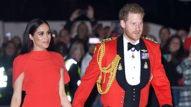 Trump says Harry and Meghan must pay for security
