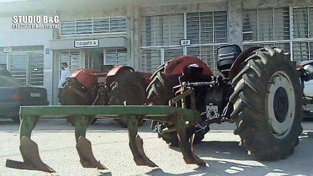 Διαμαρτυρία αγροτών της Αργολίδας