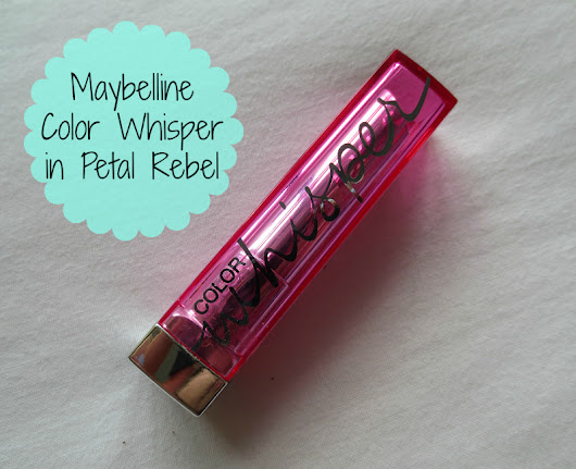 Maybelline Color Whisper in Petal Rebel