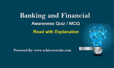 Banking & Financial Mini Quiz Practice Set