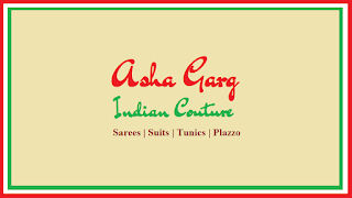 LIKE US ON FACEBOOK AND GOOGLE PLUS - ASHA GARG - INDIAN COUTURE