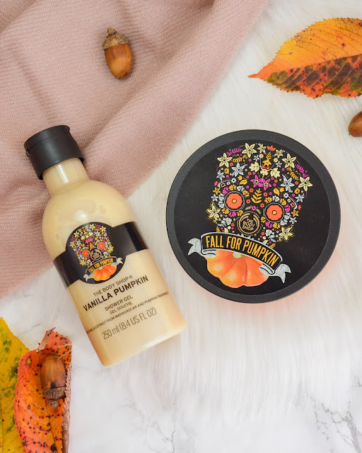 Autumn Vibes with The Body Shop Vanilla Pumpkin Collection