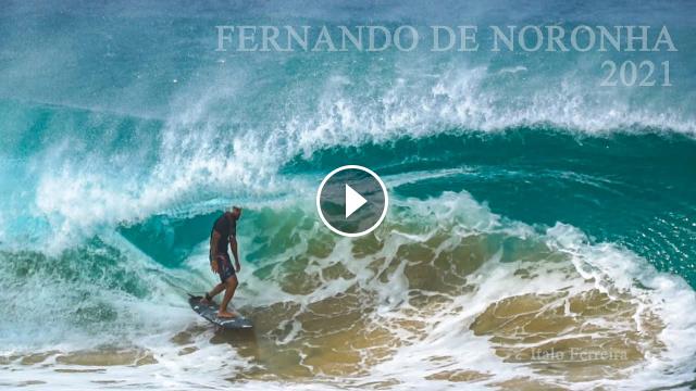 FERNANDO DE NORONHA 2021 - Surf Clássico na Cacimba do Padre