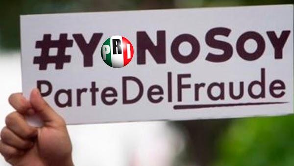 Priistas reconocen que su partido perdió en Edomex y exigen la renuncia de Ochoa Reza.