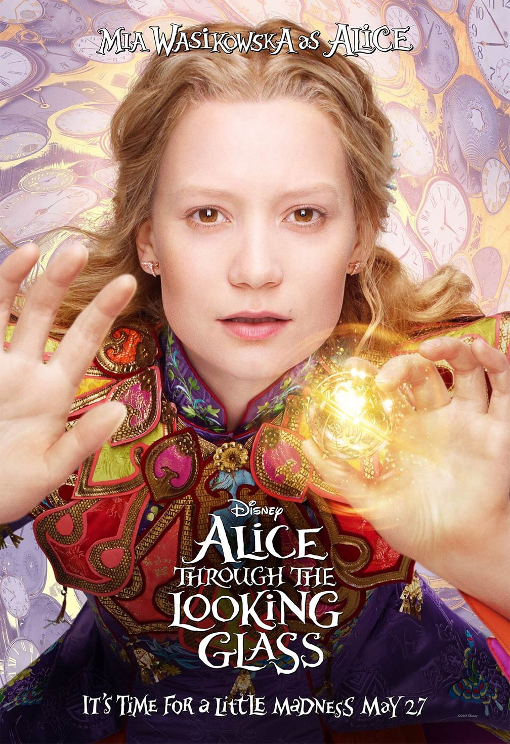 Alice Through The Looking Glass (2016) ORG Dual Audio Hindi 350MB BluRay 480p ESubs