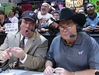 WWE / WWF Judgement Day 2001 - Paul Heyman & Jim Ross