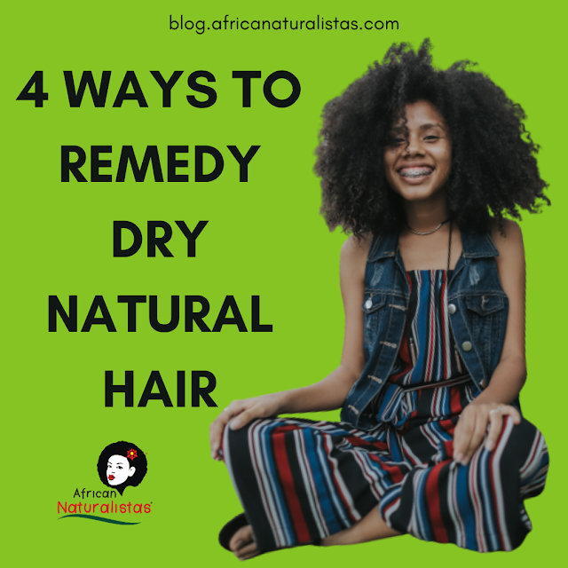 4 WAYS TO REMEDY DRY NATURAL HAIR