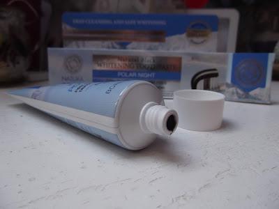 prírodná sibírska bieliaca zubná pasta