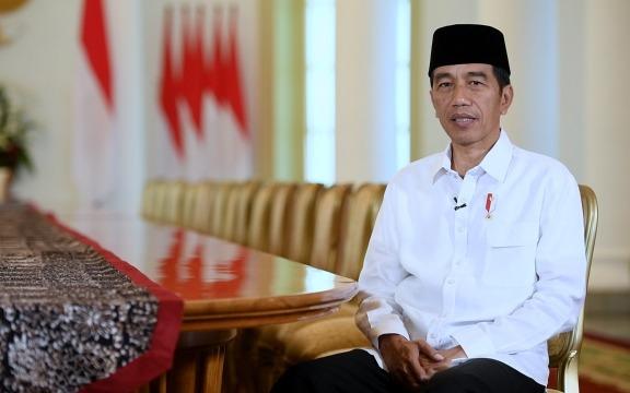 Pesan Idul Fitri Presiden Jokowi: Jaga Persatuan, Majukan Negeri