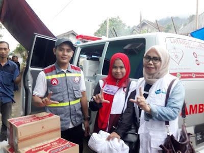 Relawan MRF Care Serahkan Bantuan Untuk Korban Tsunami Lampung