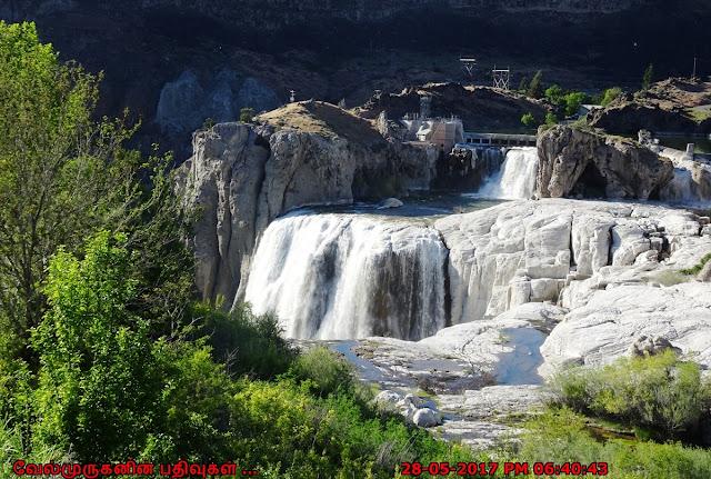 Shoshone Water Falls Idaho