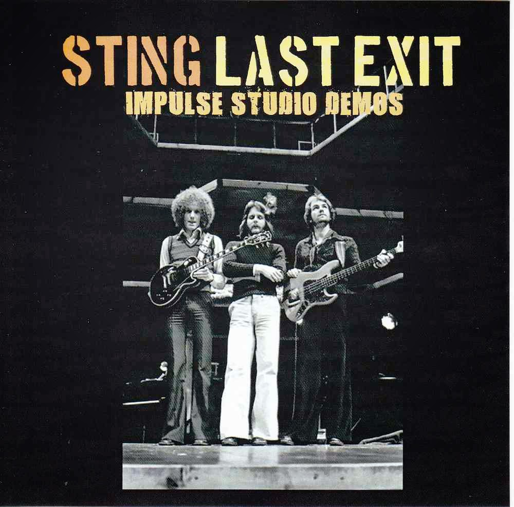 bootleg addiction: Sting: Last Exit - Demos
