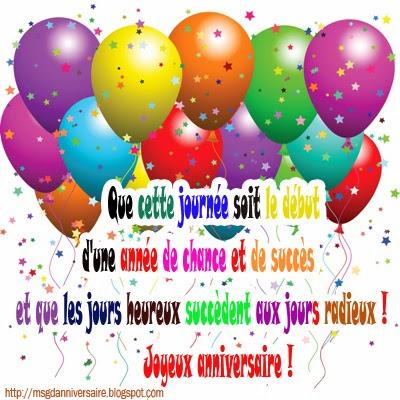 Carte souhaiter joyeux anniversaire