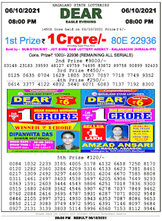 lottery Sambad Today 8pm result