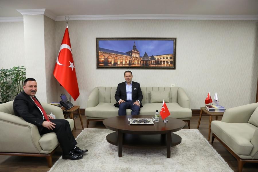 Hüseyin Beyoğlu'ndan Muhsin Eryılmaz'a Ziyaret