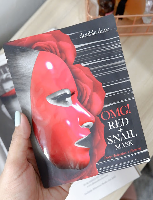 DOUBLE DARE: OMG! RED SNAIL MASK REVIEW