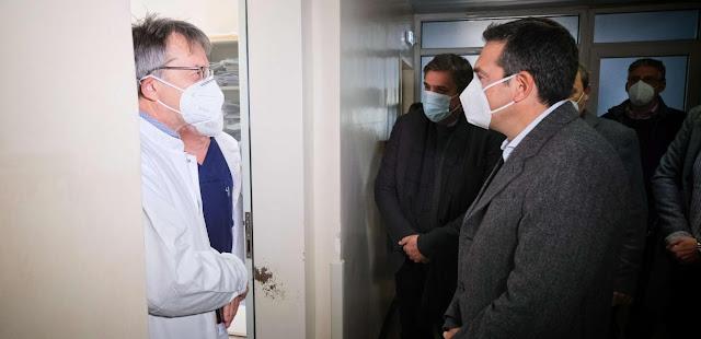Γιατροί Δράμας σε Τσίπρα:  Θέλουμε στήριξη, δεν αντέχουμε – VIDEO & ΦΩΤΟ
