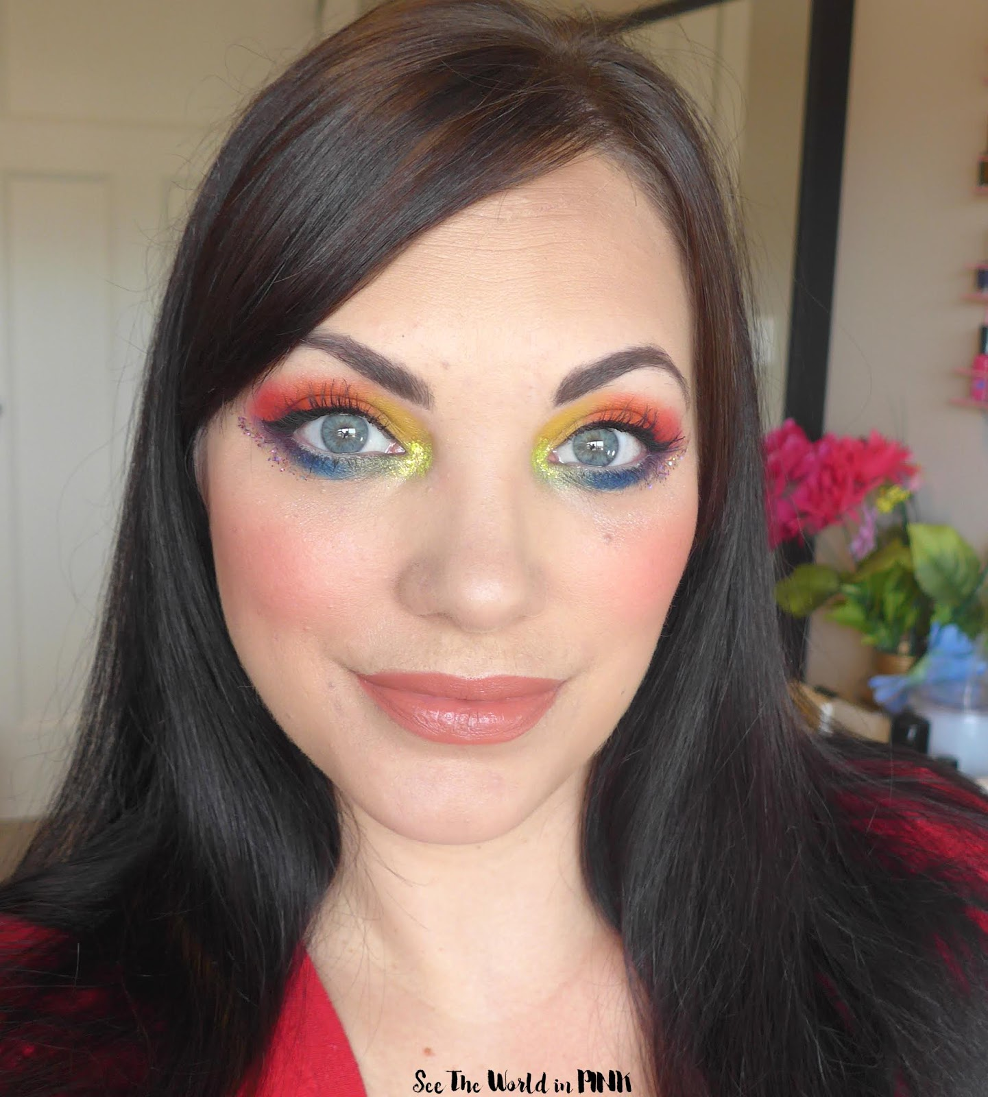 Pride Rainbow Eyeshadow Look - August Shop My Stash