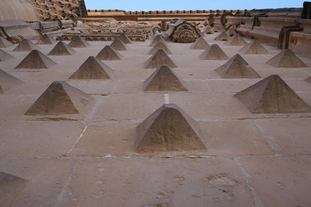 Detalle de la fachada del Palacio de Jabalquinto