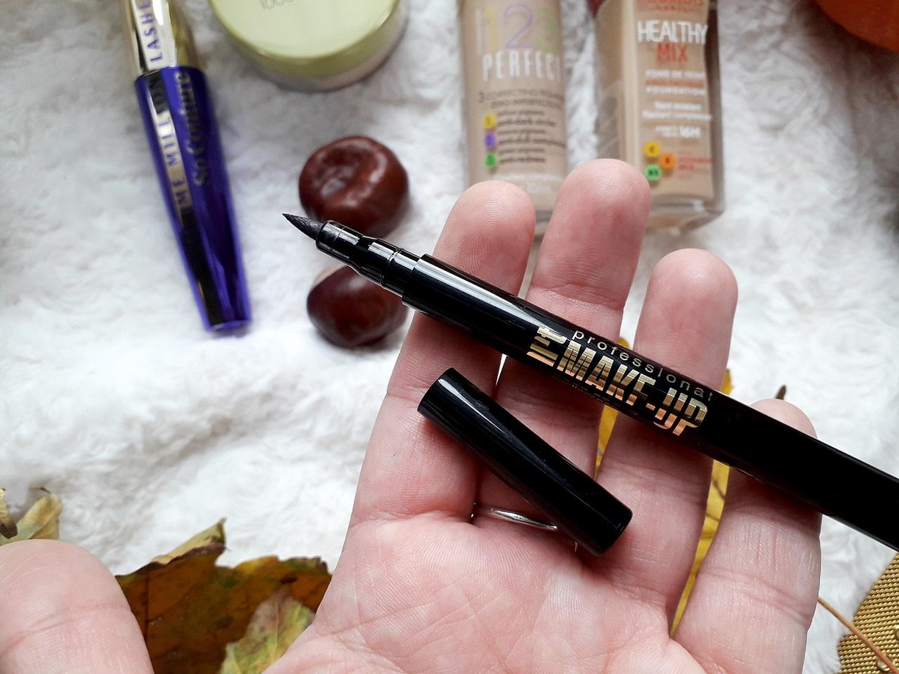 eyeliner eveline cosmetics bubel