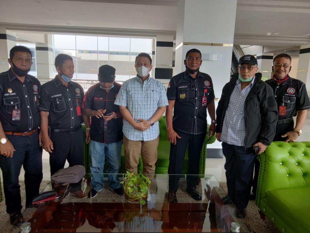 L.KPK Kepri Silaturahmi Dengan Anggota Komisi II DPR RI