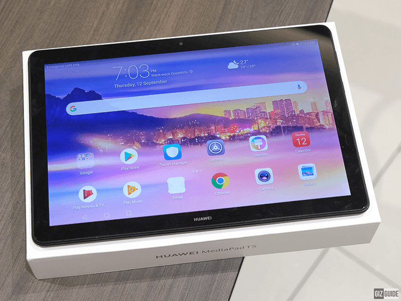 Huawei MediaPad T5 Review - 4G LTE, 1080p, stereo budget tablet!