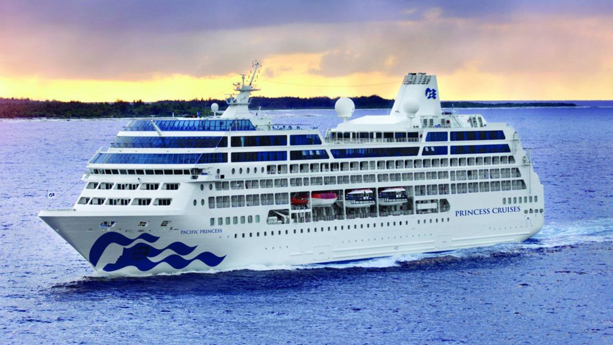 PRINCESS CRUISES VENTA BARCO PACIFIC PRINCESS 02