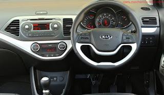 صور سيارة كيا بيكانتو 2016 من الداخل