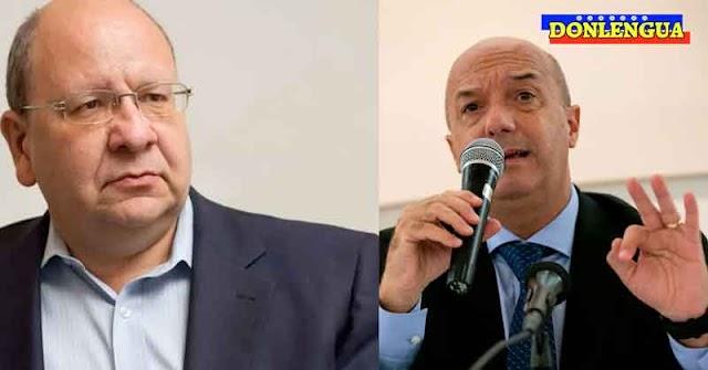 Simonovis barre el piso con Vicente Díaz por llamar a la gente a votar