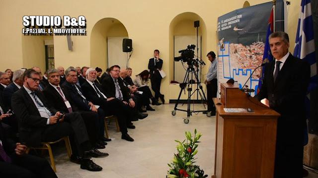 Ο Περιφερειάρχης Θεσσαλίας Κώστας Αγοραστός στην Ελληνογερμανική Συνέλευση στο Ναύπλιο