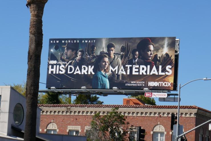 His Dark Materials season 2 billboard