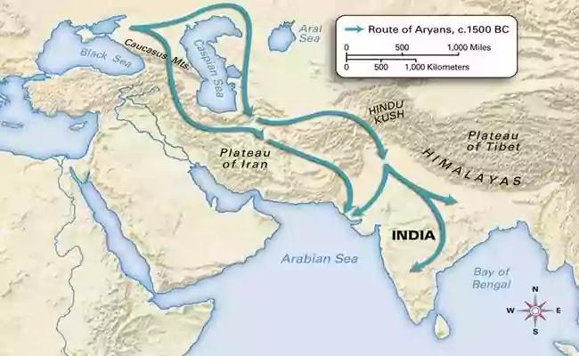 আর্যরা ভারতে কিভাবে বসতি স্থাপন করে