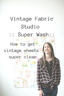 vintage sheets super wash