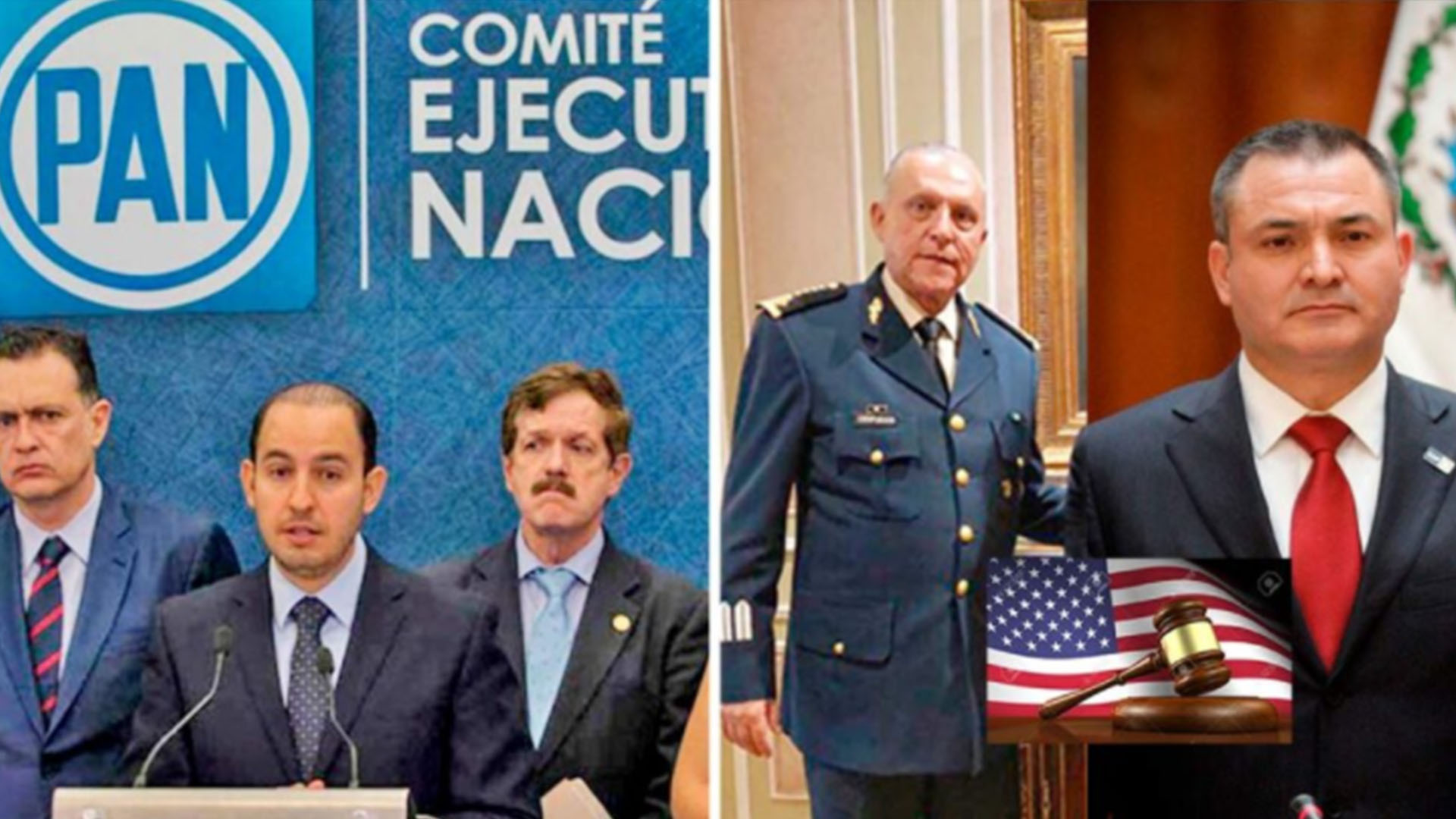 En 2019 PAN pedía intervención de EU para combatir el narco y ¡PUM! capturan a García Luna y al General Cienfuegos por narcotráfico