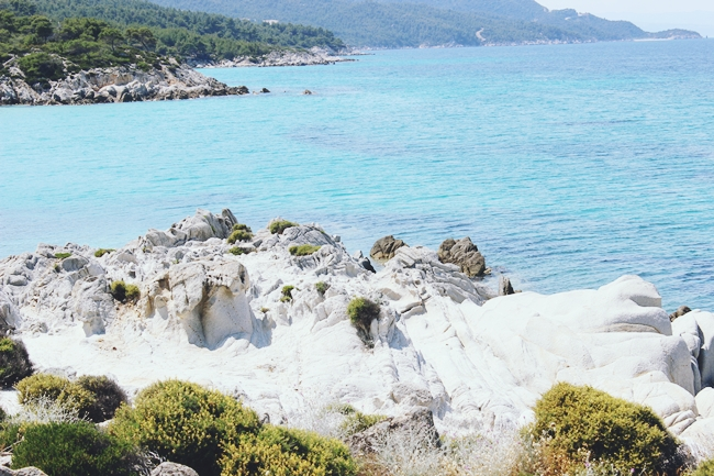 Chalkidiki,Sithonia,nature and sea