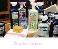 Briochin produits d'entretien