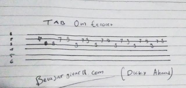 Tab gitar