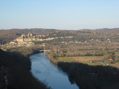 View from Castelnaud castle, Dordogne, Perigord