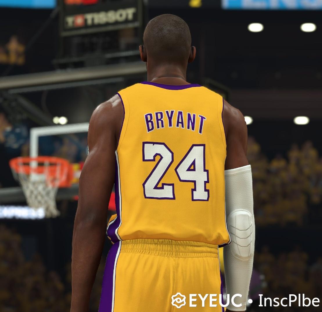 NBA 2K20 Prime Kobe Bryant Shape Cyberface by Insc&MLLR - Shuajota ...