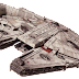 The Millennium Falcon has three droid brains in its computer and the idea came from Lewis Carroll.