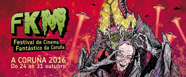 FKM, Festival de Cinema Fantástico da Coruña 2016